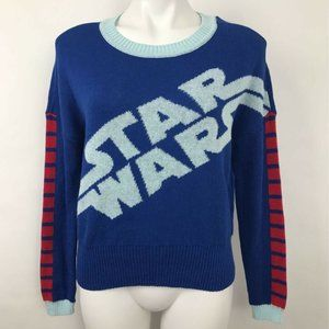 Star Wars Pullover Crew Neck Sweater Womens Sz XS